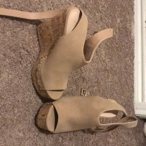 Never been worn wedges